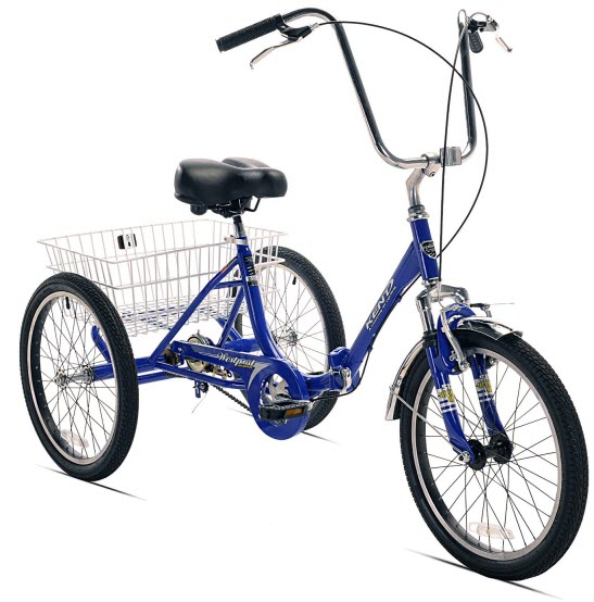 Kent Adult Westport Folding adult Tricycle