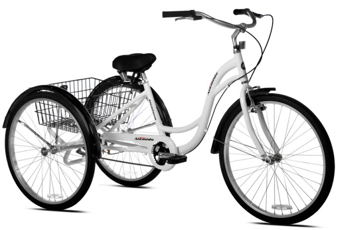 Kent Alameda Adult Tricycle white