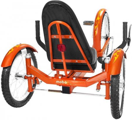 Mobo Triton Pro Ultimate 3-Wheeled Cruiser Backside