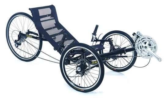 Trident Adult Recumbent folding Tricycle