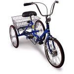 20 inch trifecta adult 3-speed folding tricycle