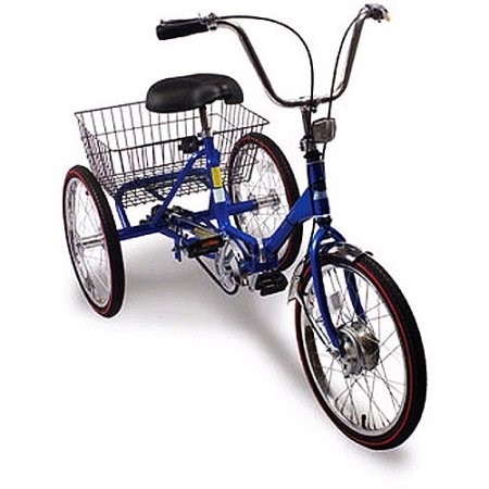 20 Inch Trifecta 3 Sd Folding Tricycle