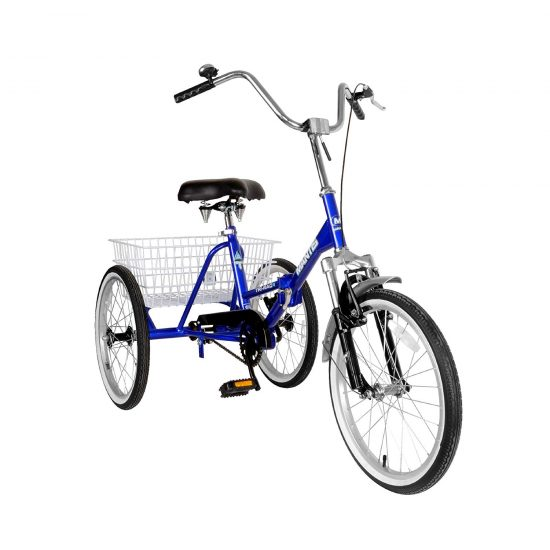 Mantis Tri-Rad Folding Cheap Adult Tricycle