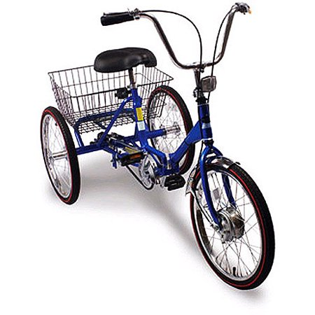 Trifecta Adult 3-Speed Folding Tricycle