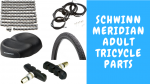 Schwinn Meridian Adult Tricycle Parts