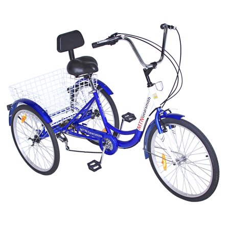 """Lowrider 7 Speed 24"""" 3-Wheel Adult Tricycle"""